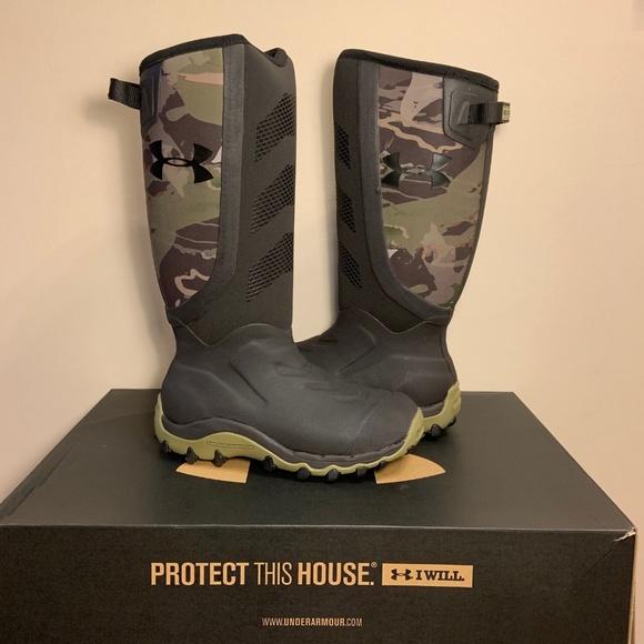 eb66aa89e41 Under Armour Hawgzilla Waterproof Hunting Boots NWT